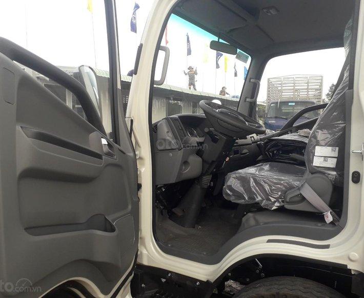 Xe tải JAC N350 3T5 thùng dài 4,3m, động cơ Isuzu cabin vuông, trả trước 100tr nhận xe3