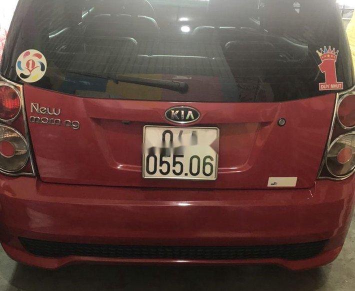 Bán Kia Morning sản xuất 2011, màu đỏ, xe nhập1