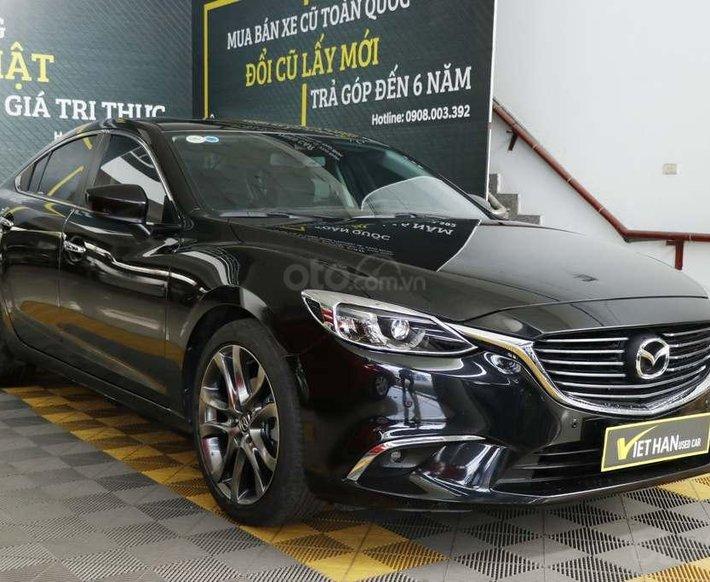 Mazda 6 2.0AT 2018 (Premium), hỗ trợ trả góp0