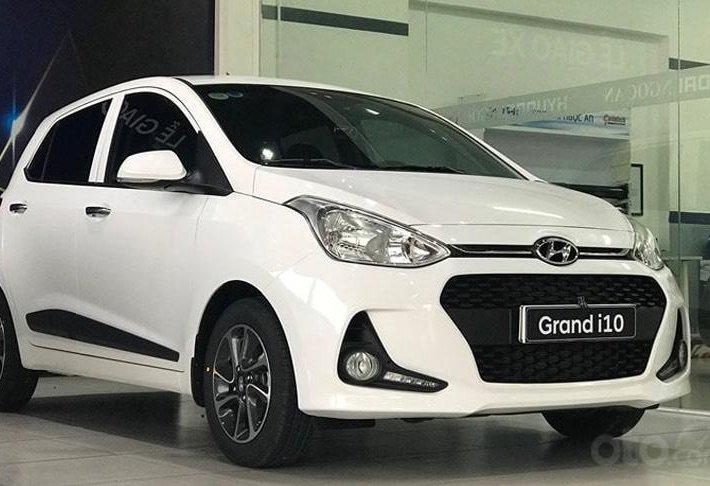 Bán xe Hyundai Grand i10 1.2 AT sản xuất năm 2021, giá ưu đãi tốt nhất miền Nam0