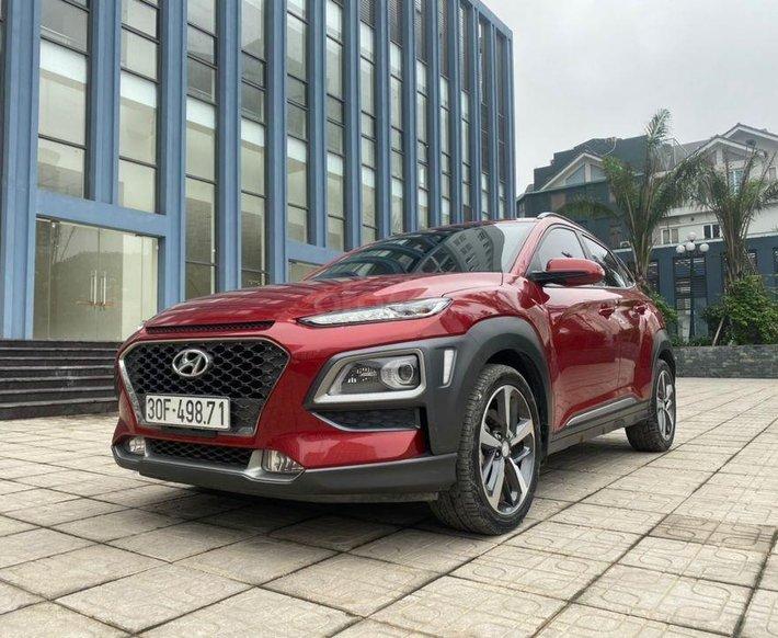 Bán nhanh giá thấp chiếc Hyundai Kona 1.6 Turbo sx 20180