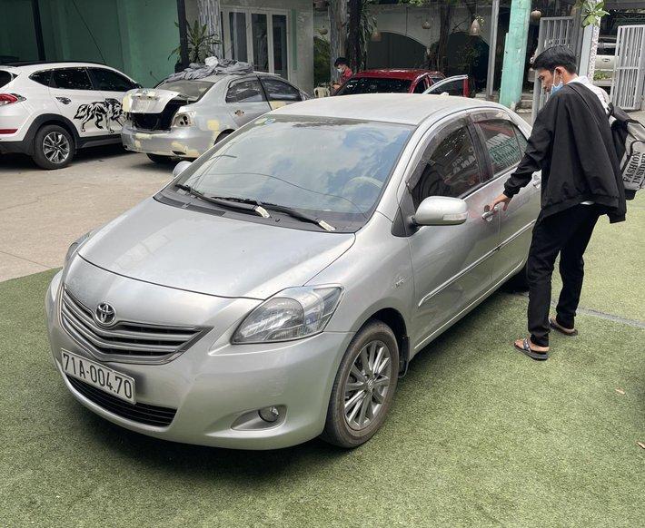 Bán Toyota Vios 1.5 sản xuất năm 20122