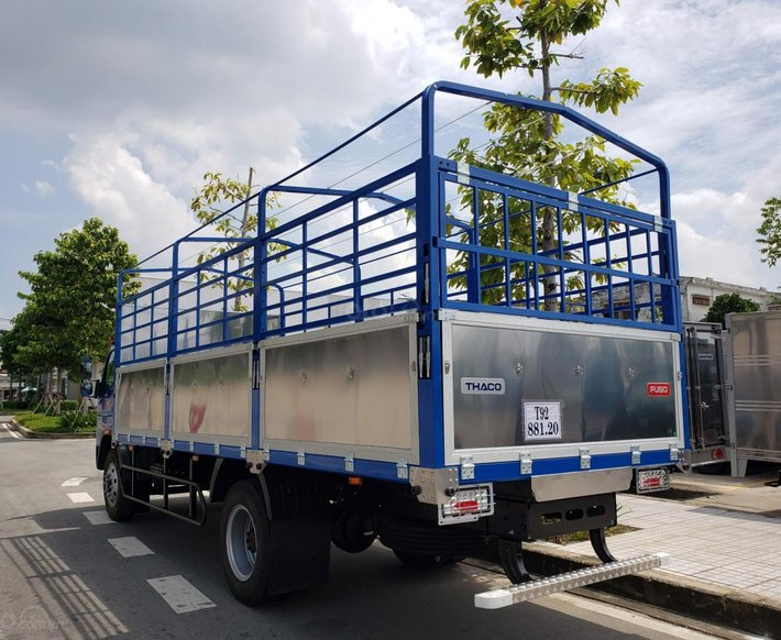 Xe tải 8 tấn Mitsubishi Fuso FI170 thùng dài 6,1m, tặng 100% lệ phí trước bạ, trả trước 220 triệu tại Bình Dương2