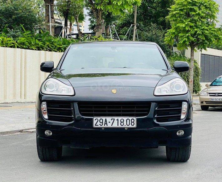 Bán Porsche Cayenne năm sản xuất 2007, màu đen, nhập khẩu nguyên chiếc0