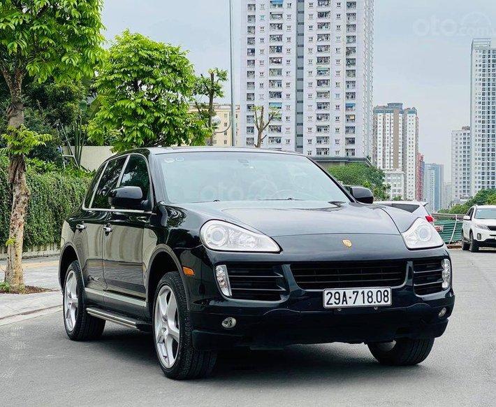 Bán Porsche Cayenne năm sản xuất 2007, màu đen, nhập khẩu nguyên chiếc2