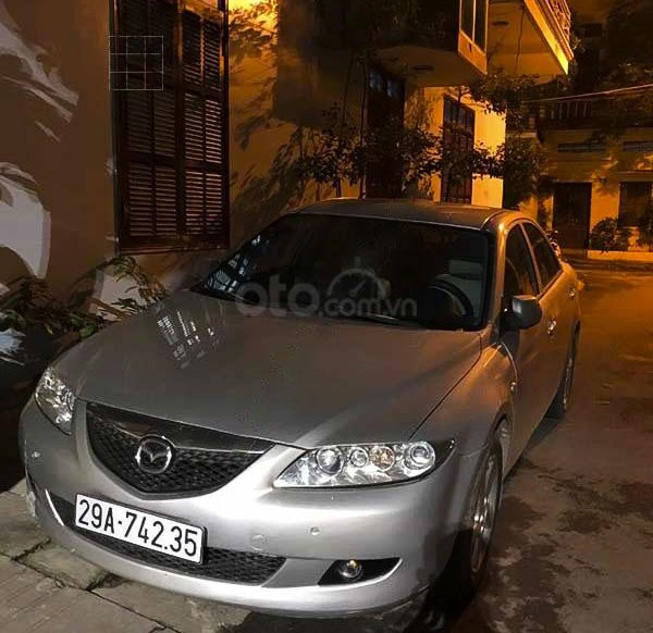 Cần bán lại xe Mazda 6 năm sản xuất 2003, màu bạc, nhập khẩu0