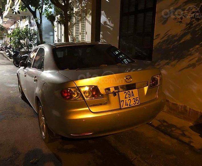 Cần bán lại xe Mazda 6 năm sản xuất 2003, màu bạc, nhập khẩu2