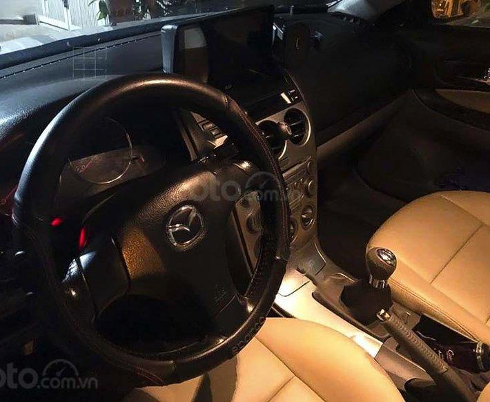 Cần bán lại xe Mazda 6 năm sản xuất 2003, màu bạc, nhập khẩu3
