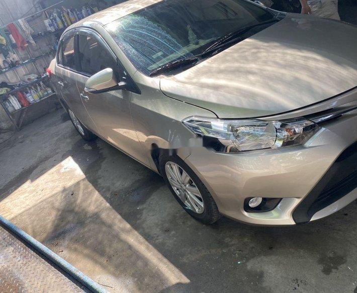 Bán Toyota Vios, vàng cát, sản xuất 2014 còn mới3