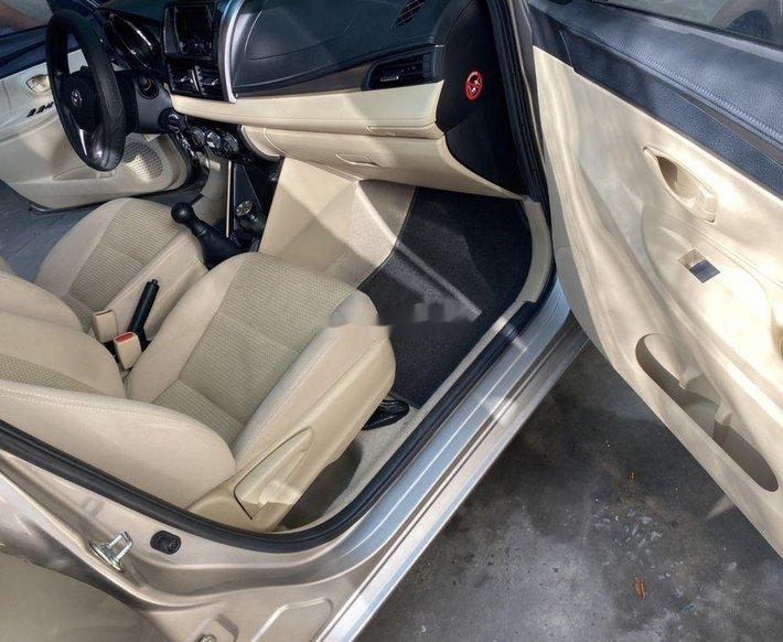Bán Toyota Vios, vàng cát, sản xuất 2014 còn mới9