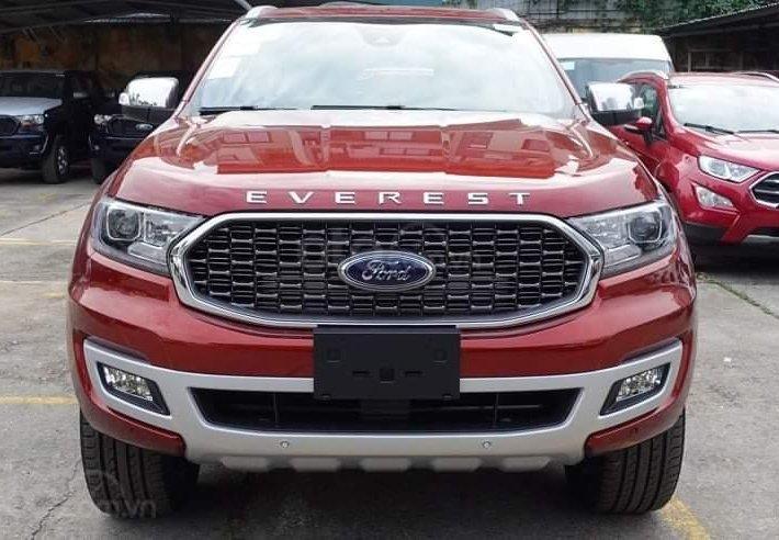 [Siêu Bùng Nổ T7] Ford Everest Titanium 2021 - Giá xe giảm cực sâu và tặng bảo hiểm thân vỏ0