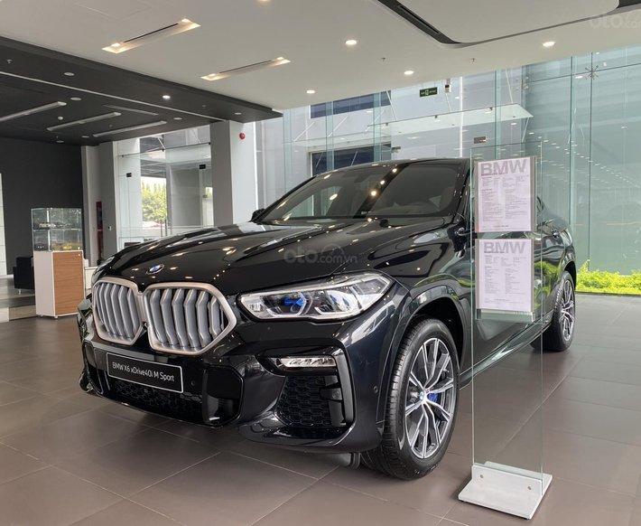 [BMW Bình Dương] BMW X6 - nhận ngay ưu đãi khi mua xe trong tháng 4, hỗ trợ góp lãi suất ưu đãi0