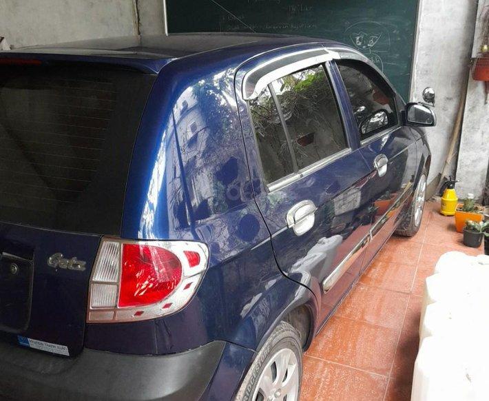Bán Hyundai Getz sản xuất 2010, màu xanh2