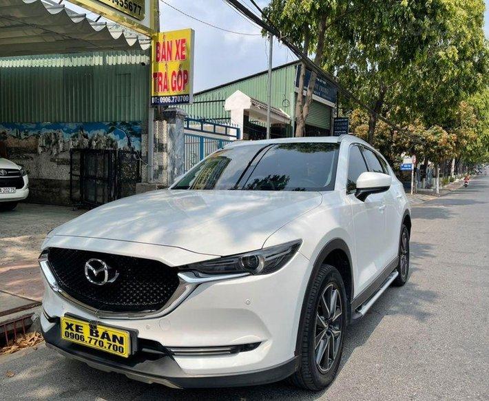Cần bán gấp Mazda CX 5 đời 2017, màu trắng1