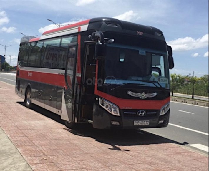 Bán nhanh chiếc xe 34 chỗ, Thaco TB85 đời 2018, xe còn mới0
