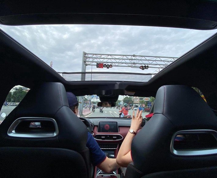 Bán MG HS sản xuất năm 2020, màu đỏ, nhập khẩu nguyên chiếc, giá chỉ 719 triệu4