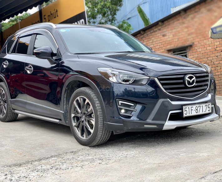 Mazda CX5 facelift 2.0AT 2017 màu xanh đen, siêu cọp 19.000km biển SG1