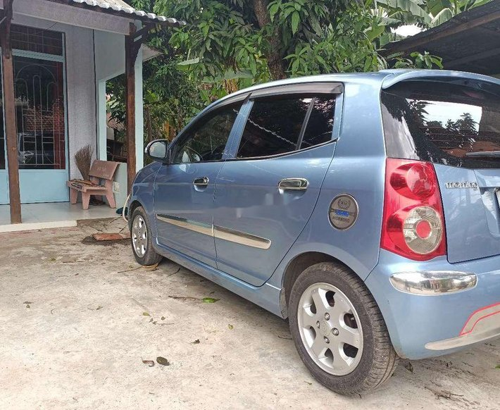 Cần bán xe Kia Morning sản xuất 2008, màu xanh lam, xe nhập0