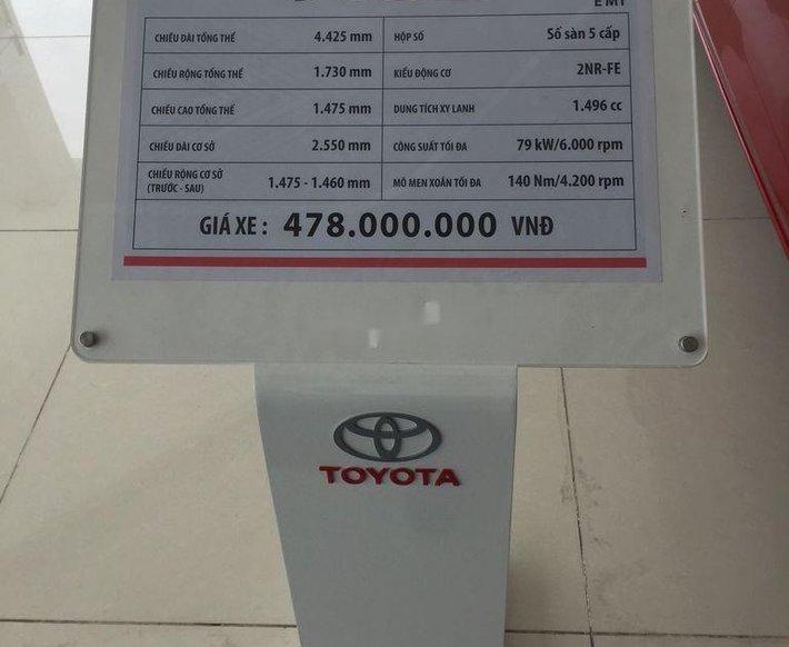 Cần bán xe Toyota Vios 2021, màu đỏ4