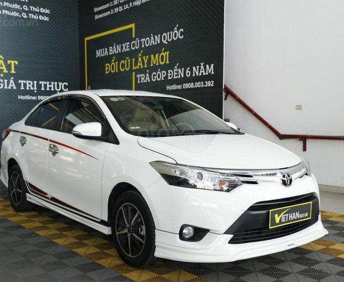 Cần bán Toyota Vios 1.5AT TRD 2018, trả góp0