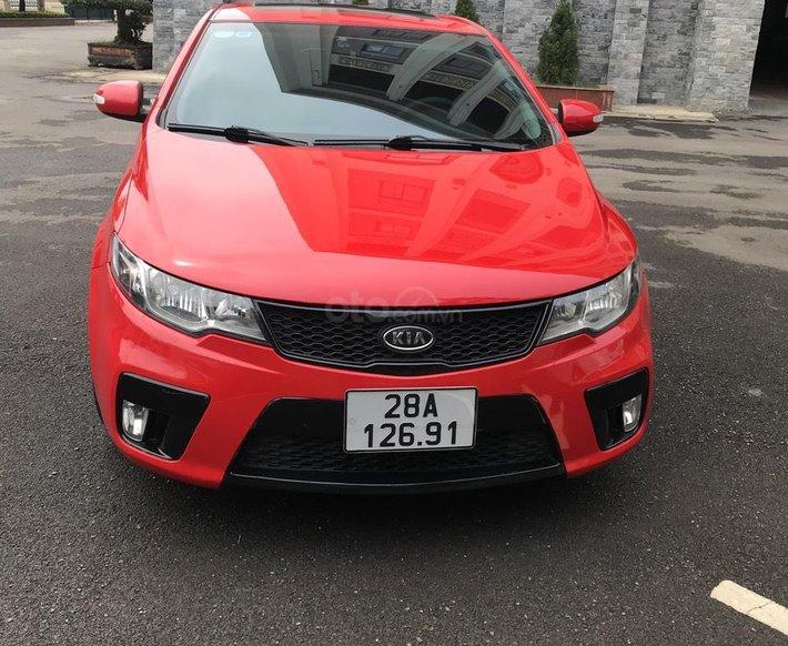 Chính chủ bán xe Kia Cerato 2.0 sản xuất năm 2009, màu đỏ, nhập khẩu còn mới, 345tr2