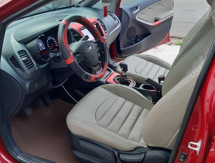 Bán xe Kia Cerato 2018, màu đỏ7