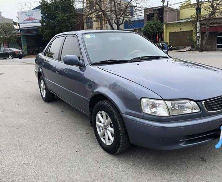 Bán Toyota Corolla năm sản xuất 1997, màu xám, nhập khẩu 0