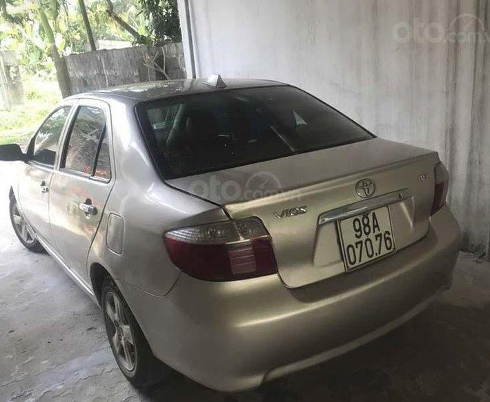 Cần bán gấp Toyota Vios năm sản xuất 2007, màu vàng cát2
