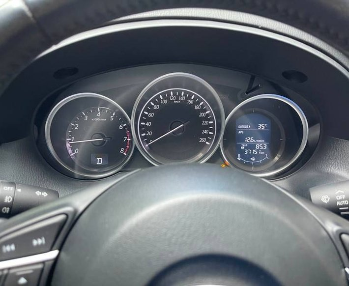 Bán Mazda CX 5 đời 2017, màu nâu6