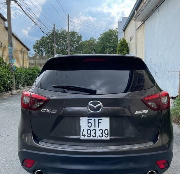 Bán Mazda CX 5 đời 2017, màu nâu1