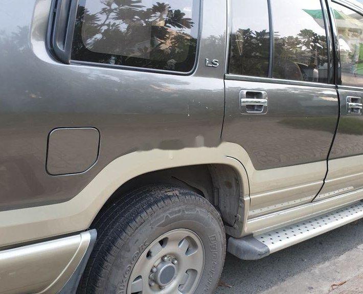 Cần bán Isuzu Trooper sản xuất 1997, màu xám, nhập khẩu nguyên chiếc, 130 triệu4