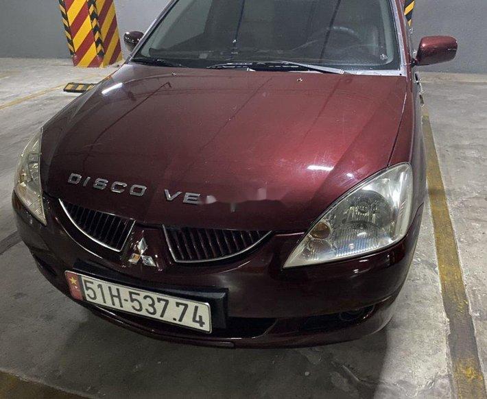 Cần bán lại xe Mitsubishi Lancer đời 2004, màu đỏ, xe nhập xe gia đình, giá 169tr3