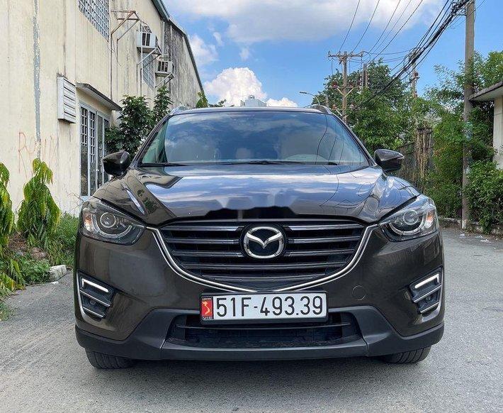 Bán ô tô Mazda CX 5 đời 2017, màu nâu xe gia đình, giá tốt0