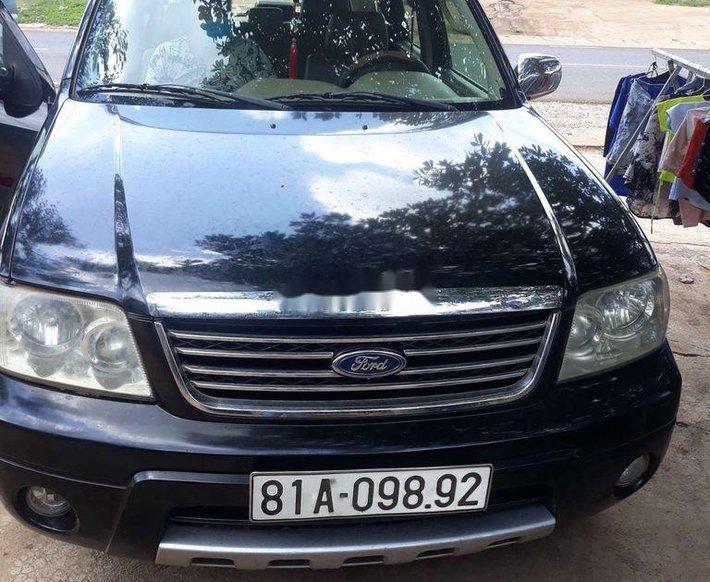 Cần bán gấp Ford Escape năm sản xuất 2004, màu đen, nhập khẩu nguyên chiếc số tự động0