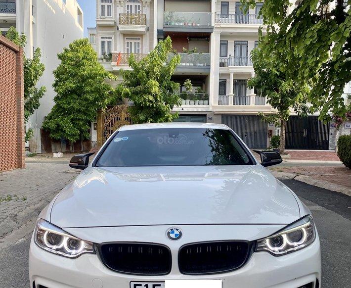 Bán xe BMW 420i Sportline sản xuất năm 2014 máy móc không lỗi, gầm bệ bảo dưỡng tốt theo định kỳ, option miên man0