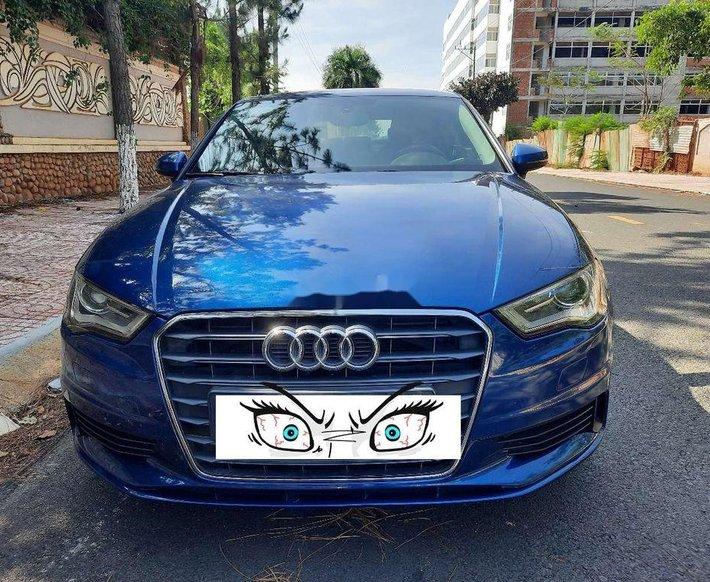 Cần bán Audi A3 sản xuất 2013, màu xanh lam, nhập khẩu nguyên chiếc số tự động, giá 595tr8