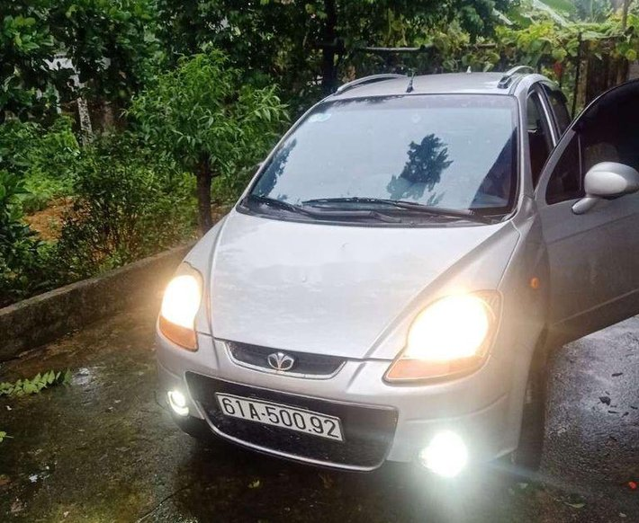 Cần bán lại xe Daewoo Matiz sản xuất năm 2007, nhập khẩu còn mới, giá 124tr0