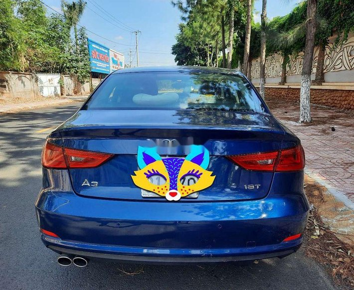 Cần bán Audi A3 sản xuất 2013, màu xanh lam, nhập khẩu nguyên chiếc số tự động, giá 595tr11