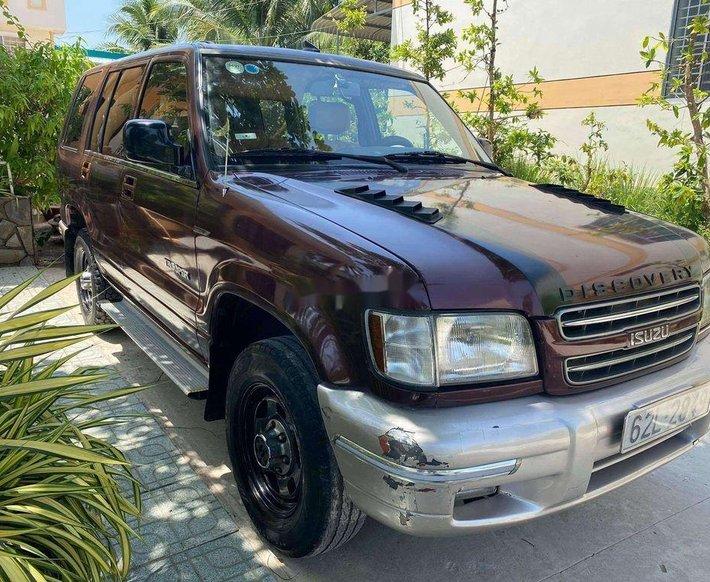 Bán Isuzu Trooper sản xuất 2001, màu đỏ, xe nhập0
