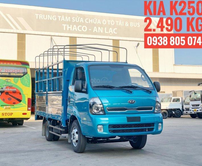 Xe tải Kia K250 Euro 4 - Động cơ Hyundai - Tải trọng 2.4 tấn - thay thế K3000S và K1650