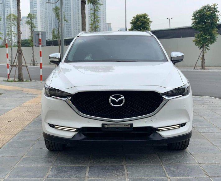 Cần bán xe Mazda CX 5 2017, màu trắng, giá tốt1