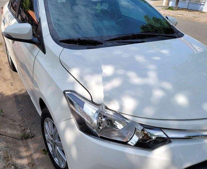 Bán Toyota Vios 2017, màu trắng0