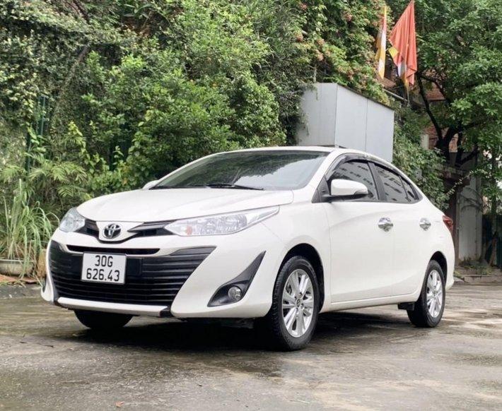 Bán Toyota Vios E 1.5AT sx 2019 biển Hà Nội1