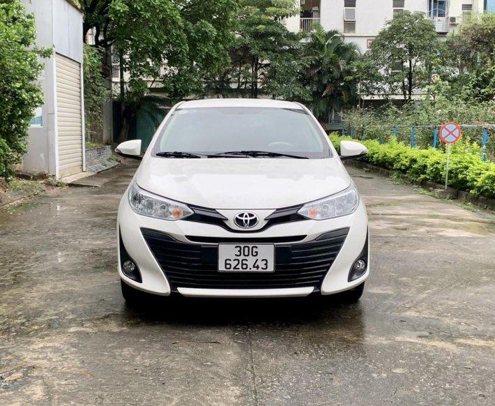 Bán Toyota Vios E 1.5AT sx 2019 biển Hà Nội0