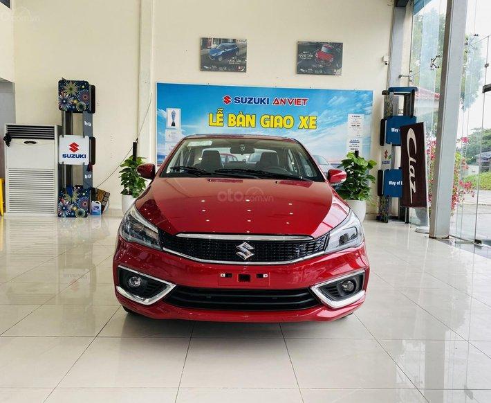 Bán xe Suzuki Ciaz năm 2021, giá 480tr tặng nhiều phụ kiện phần quà chính hãng, hỗ trợ trả góp 80% giá trị xe0
