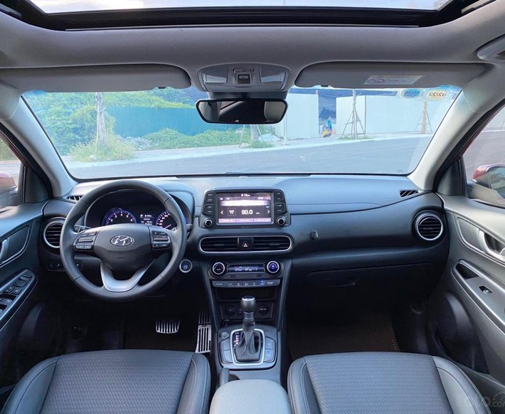 Hyundai Kona 1.6 Turbo, bản cao nhất, ưu đãi sốc, giảm trực tiếp 60 triệu tiền mặt, giá xe 750 giảm còn 690 triệu2