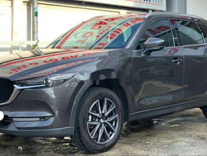 Cần bán gấp Mazda CX 5 đời 2019, màu xám 1