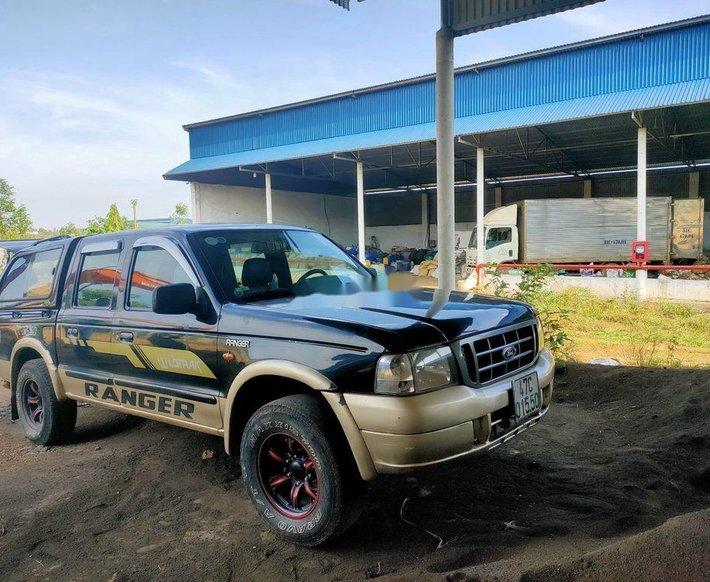 Bán Ford Ranger đời 2003, xe nhập, màu xanh5