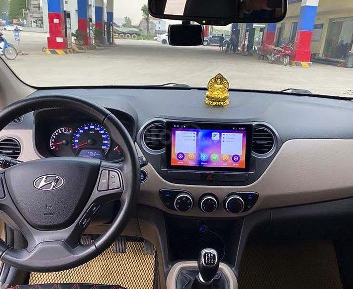 Bán Hyundai Grand i10 2018, màu vàng còn mới2