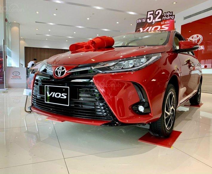 Toyota Vios 2021 478tr, khuyến mãi góp 85%, full quà giao ngay2